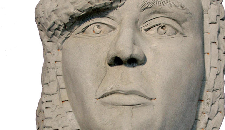 Eternidades II (Gres y polvo de mármol)
